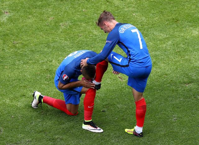 Griezmann đã có 3 bàn thắng tại EURO 2016