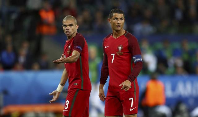 Ronaldo và các đồng đội là nỗi thất vọng lớn tại EURO 2016. Ảnh: UEFA