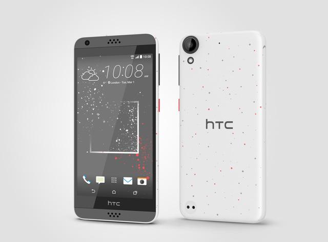 Thiết kế bắt mắt của mẫu smartphone HTC Desire 630