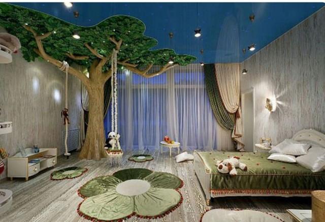 Phòng ngủ hay khu rừng cổ tích?