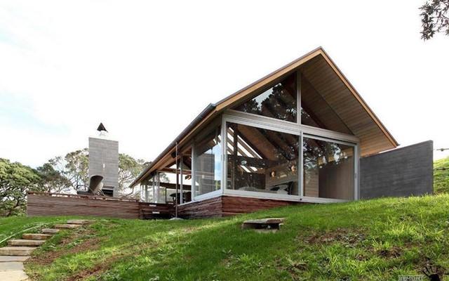 Căn nhà bằng kính tại New Zealand là một trong những ý tưởng tuyệt vời để giải phóng không gian và khiến căn nhà trở nên thú vị, mang tính hiện đại hơn.