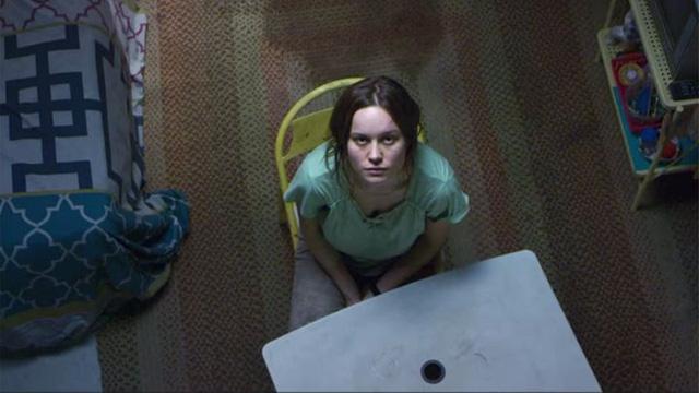 Brie Larson trong một cảnh của phim Room.