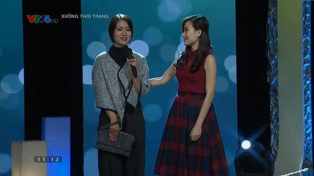 Thanh Huyền dẫn Xưởng thời trang trong số mới đầu năm 2016.