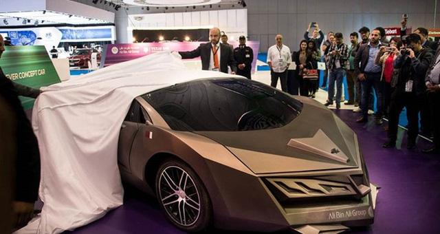 Xe được trưng bày tại Qatar Motor Show 2016.