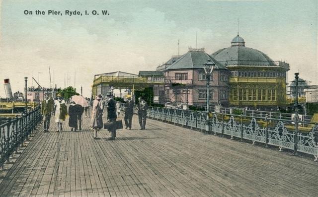 Cầu cảng Ryde nằm ở thị trấn Ryde, ngoài khơi bờ biển phía nam nước Anh.