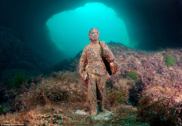 Bức tượng của lãnh tụ Lenin