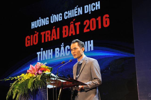 Ông Vũ Anh Tài, Phó giám đốc công ty điện lực Bắc Ninh phát biểu