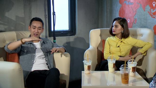 Miu Lê và Hứa Vỹ Văn chia sẻ về quá trình quay phim Em là bà nội của anh trong chương trình Café sáng cuối tuần.