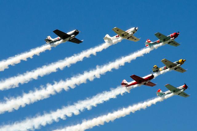 Bất chấp những khó khăn về kinh tế, ngành hàng không thế giới vẫn tăng trưởng vượt bậc (Ảnh minh họa)