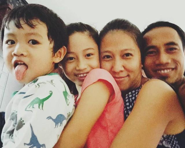 Hình ảnh đáng yêu của gia đình nam ca sĩ Phạm Anh Khoa