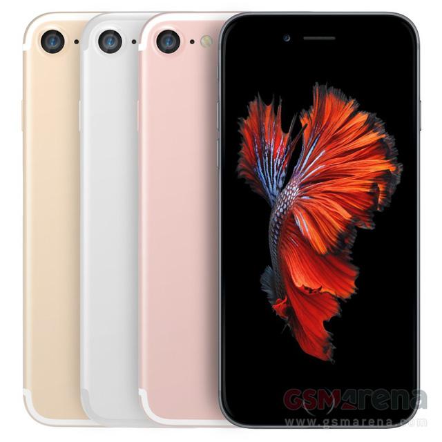 Ảnh dựng 3D của iPhone 7 cho thấy iPhone 7 sở hữu thiết kế giống iPhone 6 và iPhone 6S (Ảnh: GSM Arena)