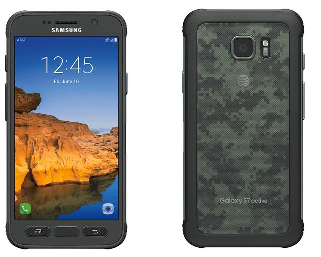 Galaxy S7 Active sở hữu lớp vỏ chống va đập chắc chắn