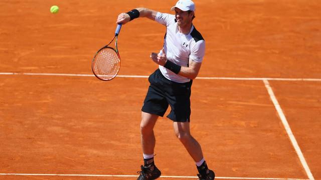 Dù quyết tâm cao xong Murray vẫn phải nói lời tạm biệt Monte Carlo sau trận bán kết