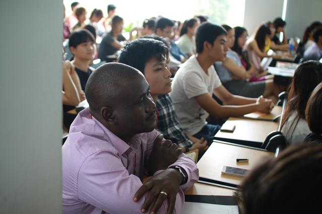 Cuộc thi thu hút sự quan tâm của sinh viên quốc tế đang theo học tại Đại học FPT