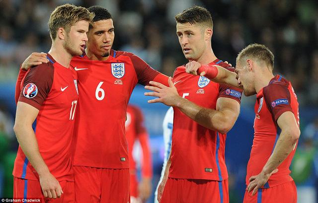 Tuyển Anh chắc chắn sẽ quyết tâm để giành tấm vé vào tứ kết EURO 2016. Ảnh: Getty