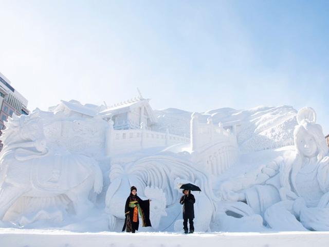 Vào những tháng mùa đông, Orido tổ chức lễ hội tuyết Sapporo.