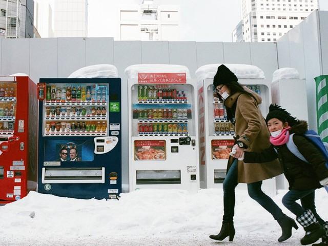 Thời tiết luôn trong tình trạng băng giá vào mùa đông.
