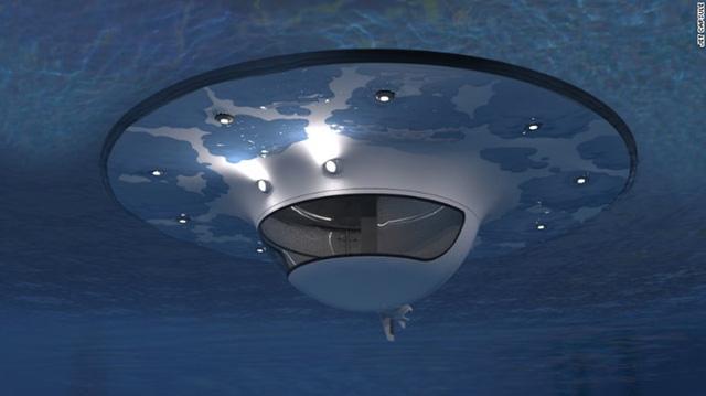 Vỏ tàu được làm từ sợi thủy tinh và được bảo vệ bởi các nút bịt kín giúp giữ con tàu nổi được và ổn định trên mặt nước. Một công ty Italy đứng sau những thiết kế này và họ khẳng định con tàu sẽ không bao giờ chìm ngay cả ở những vùng biển động.