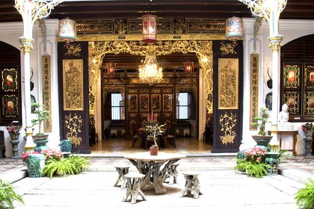 Bảo tàng Baba Nyonya là sự kết hợp giữa văn hóa Malay và Trung Quốc. Ảnh: malacca.