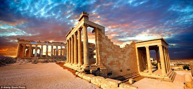 Ngôi đền thờ Acropolis tại Hy Lạp trên tạp chí