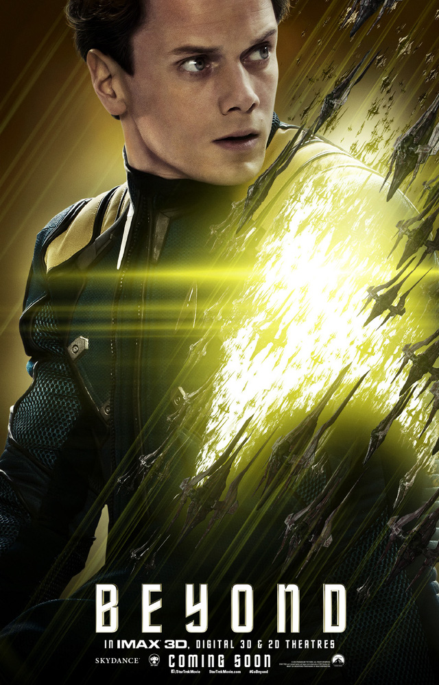 Poster nhân vật của Anton Yelchin trong Star Trek: Beyond (2016)