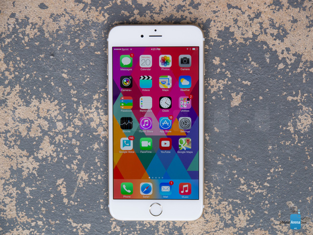 iPhone 6S Plus (Ảnh: PhoneArena)
