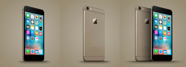 Ảnh dựng iPhone 6C của nhà thiết kế Ferry Passchier