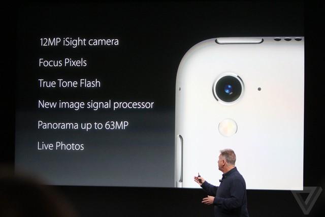 iPad Pro 9,7 inch được trang bị camera sau mạnh mẽ tương tự như iPhone SE