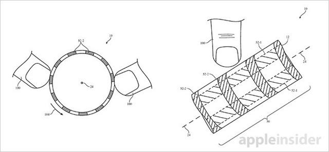 Hình ảnh mô tả từ bằng sáng chế của Apple (Ảnh: Apple Insider)