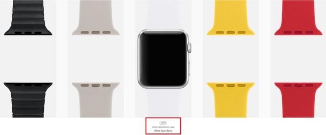 Lựa chọn dây đeo cho Apple Watch