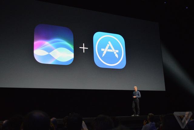 Apple mở rộng cơ hội phát triển Siri trên các ứng dụng bên thứ ba