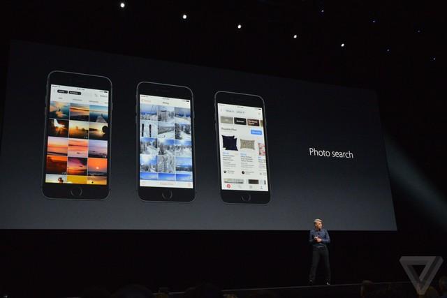Ứng dụng Photos được tăng cường khả năng tự động nhận diện và phân loại mạnh mẽ