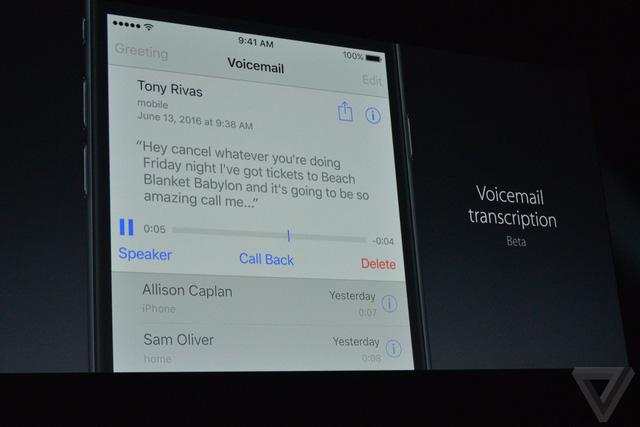 Phone hỗ trợ chuyển đổi tin nhắn thoại sang tin nhắn văn bản