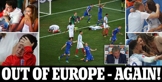 Trang nhất Daily Mail: Thêm một lần nữa ra khỏi châu Âu