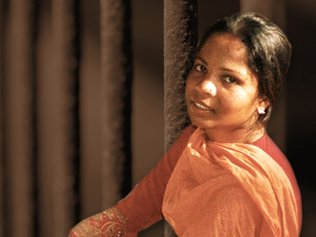 Cô Asia Bibi - Ảnh: Christians in Pakistan