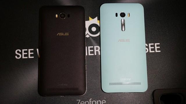 ZenFone Max có 2 màu đen kim khí và trắng tinh khiết (Ảnh: Unbox)