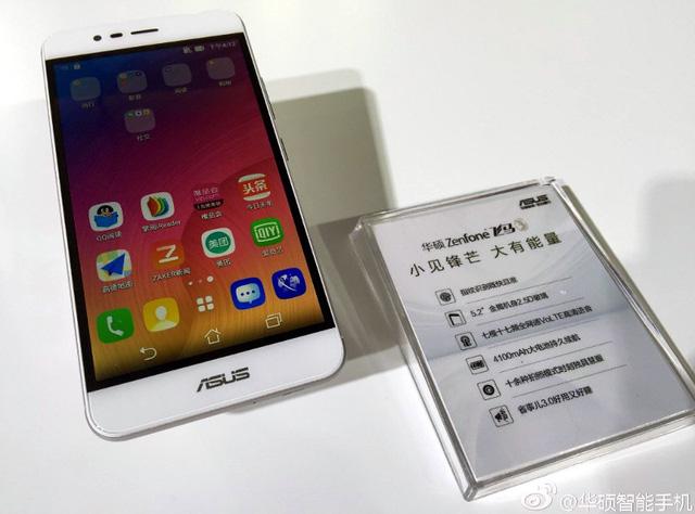 Hình ảnh thực tế của Asus ZenFone Pegasus 3