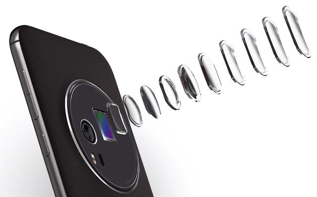Ống kính zoom quang học 3x của ZenFone Zoom hứa hẹn cho ra những hình ảnh có độ sắc nét cao