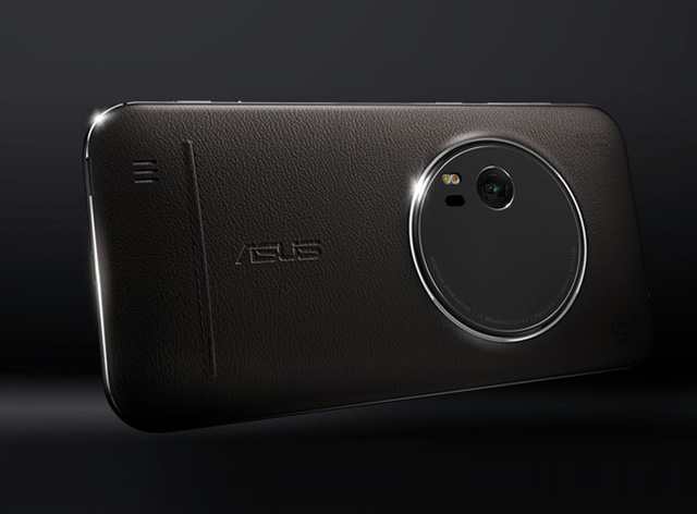 Thiết kế vỏ da cao cấp của ZenFone Zoom