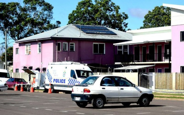 Cảnh sát phong tỏa hiện trường ngay sau vụ tấn công.