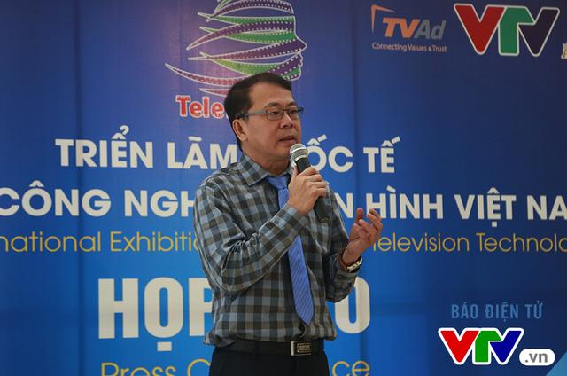 Ông Nguyễn Hà Nam phát biểu tại buổi họp báo.