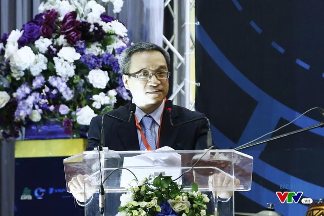 Ông Phan Tâm - Thứ trưởng Bộ Thông tin và Truyền thông phát biểu tại Lễ khai mạc