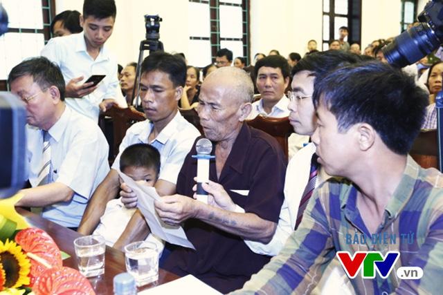 Ông Trần Văn Thêm chia sẻ sau khi nhận lời xin lỗi công khai