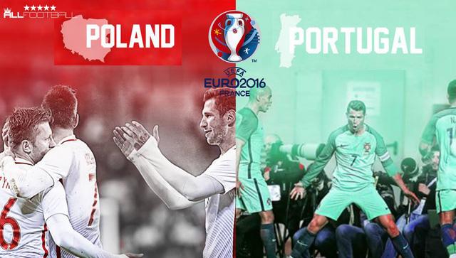 NHM đang háo hức chờ đợi trận tứ kết đầu tiên tại EURO 2016 giữa Ba Lan và Bồ Đào Nha.
