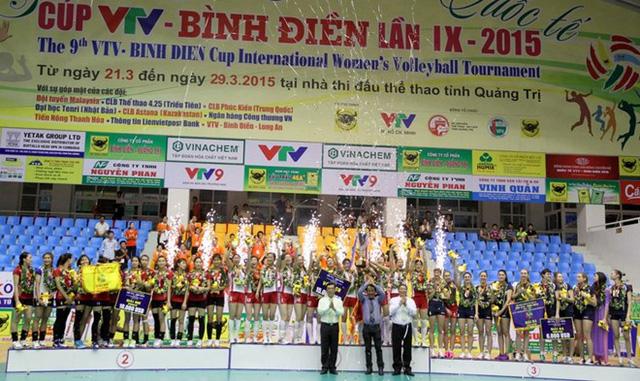 CLB Thông Tin Lien Viet PostBank và CLB 4.25 Triều Tiên là đương kim Á quân và Vô địch của giải
