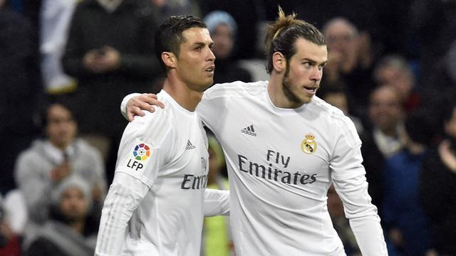 Bale và Ronaldo trong màu áo Real Madrid