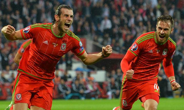 Gareth Bale (t là niềm hi vọng lớn nhất của ĐT Xứ Wales tại EURO 2016. Ảnh: Getty
