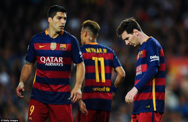 Barca đã thua 4 trận, hòa 1 trong 6 trận gần nhất.