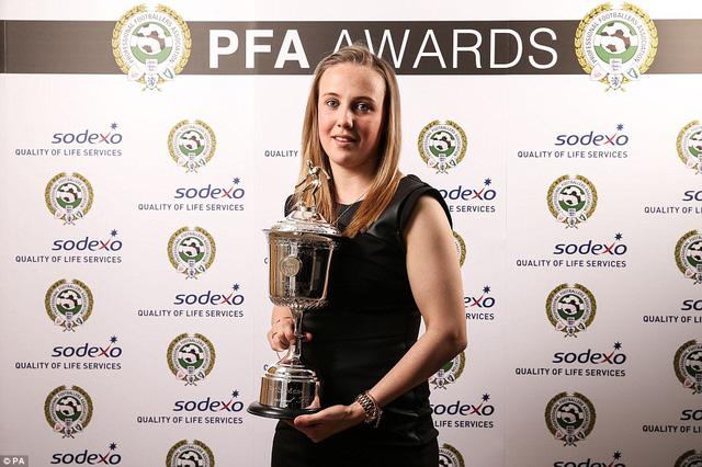 Danh hiệu nữ cầu thủ trẻ xuất sắc nhất thuộc về Beth Mead