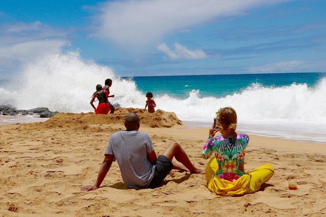 Cặp vợ chồng này đã có khoảng thời gian yên bình ở bên nhau tại Hawaii.